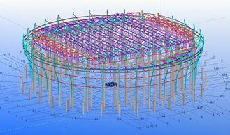 Chine Conceptions techniques structurelles en acier faites sur commande pour des usines, des entrepôts et des salles d'exposition fournisseur