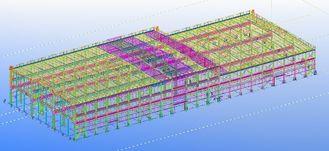 Chine conceptions techniques structurelles commerciales en acier préfabriquées Pré-machinées fournisseur