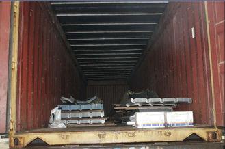 Chine Sciant, rectifiant, feuilles de poinçon de toiture en métal, système de panneaux de mur pour le bâtiment en métal fournisseur