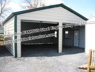Chine Metal la structure métallique de construction Pré-machinée par garage, fabrication fournisseur