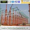 Chine Normes préfabriquées de pignon des bâtiments à charpente d'acier multi ASTM d'envergure usine