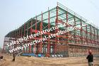 Chine Cadres en acier pré peints de colonnes des bâtiments à pans de bois S235JR d'atelier industriel usine