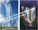 Chine Les bâtiments préfabriqués en acier à plusiers étages de Q345B pour l'hôtel-résidence et le bureau ont fabriqué des entrepreneurs usine