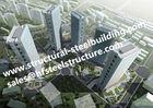 Chine Bas milieu et haut bâtiment en acier à plusiers étages de Hise/bâtiments préfabriqués en acier usine
