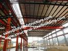 Les bâtiments à charpente d'acier structurels de bâtiment mélangé en béton d'acier ont vite érigé le bâtiment préfabriqué