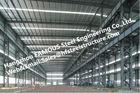 Bâtiments en acier industriels en acier fabriqués avec la préparation de surface en acier galvanisée