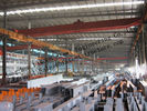Bâtiments en acier industriels préfabriqués, bâtiments structurels en acier d'envergure simple pour l'entrepôt