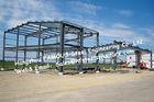 Bâtiments en acier préfabriqués noirs, partie métallique structurelle établissant la norme de l'Australie Nouvelle-Zélande