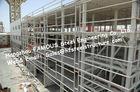 Bâtiments en acier commerciaux professionnels, immeuble de bureaux de structure métallique