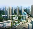 Chine Le sawing industriel d'OEM, rectifiant, poinçonnant et imperméabilisent le bâtiment en acier à plusiers étages usine
