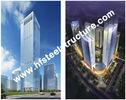 Chine Q235 industriel préfabriqué fait sur commande, bâtiment en acier à plusiers étages du stockage Q345 en acier usine