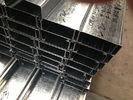 Chine Q235 Q345 a galvanisé C et Purlins en acier de Z avec l'épaisseur de zingage 275g/m2 usine