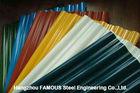 Chine Feuille ondulée de panneau enduite d'une première couche de peinture par feuilles de toiture galvanisée par Galvalume en métal usine