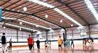Chine La structure métallique préfabriquée par précision Pré-A machiné le bâtiment/terrain de basket/Chambre préfabriquée usine