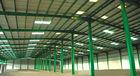 Chine Fabricated faite sur commande Pré-a machiné la structure métallique de construction construisant la double envergure usine