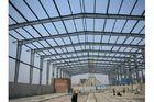 Chine entrepôt galvanisé adapté aux besoins du client parenvergure de vue de fabrications d'acier de construction usine