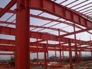 Chine Bâtiments d'acier de construction avec la fermeture ondulée de panneau de tôle d'acier usine