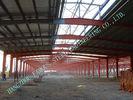 Chine A36 a pré machiné la forme de H soudée par bâtiments en acier industriels pour des moulins de tissu usine