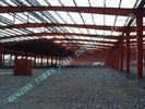 Chine Les faisceaux de section de H/bâtiments à charpente d'acier de colonnes ont pré machiné 80 x 100 Clearspan usine