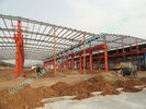 Chine Les bâtiments en acier préfabriqués d'entrepôt d'exploitation ont pré machiné des normes de Multispan ASTM usine