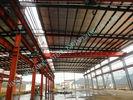 Chine 95 x 150 bâtiments en acier industriels pré machinés extrayant des normes du projet ASTM usine