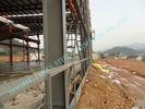 Chine ASTM ASD a préfabriqué les bâtiments en acier, pré machinés 85' des ateliers de projet de centrale de X 100 ' usine