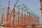 Chine Bâtiments à charpente d'acier industriels d'ASTM, bâtiments en métal de Multipan de la construction préfabriquée 75 x 120 usine