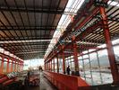 Chine Bâtiments à charpente d'acier des vêtements ASTM, construction préfabriquée 82 x atelier 100 en acier industriel léger usine