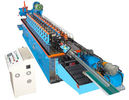 Chine machine de laminage à froid de la Manche du chapeau 15KW avec la coupe hydraulique de lame du Cr 12 usine