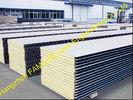 Chine Entreposez les feuilles de toiture en métal/l'isolation thermique panneau de polyuréthane usine