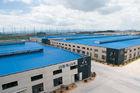 Chine L'acier préfabriqué par OEM a jeté le stockage, cisaillant, scier, rectifiant le bâtiment Pré-machiné usine