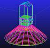 Chine Immersion chaude faite sur commande galvanisée, conceptions techniques structurelles en acier imperméables et préfabriquées usine