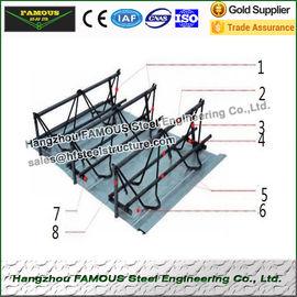 Feuille de plate-forme de plancher de botte de Rebar d'acier pour béton armé de représentation pour la base de construction