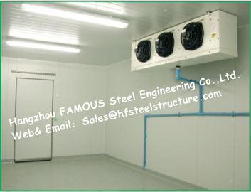 """Refroidisseur de congélateur d'entreposage en boîte de système solaire et chambre froide de congélateur à air forcé avec des panneaux """"sandwich"""" d'unité centrale"""