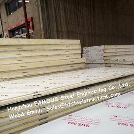 Panneaux de plafond légers de congélateur à air forcé de panneau de chambre froide avec le matériel de tôle d'acier