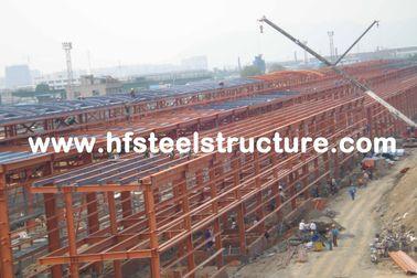 Bâtiment en acier industriel de structure métallique de lumière de bâtiments de grande envergure