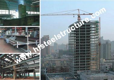 Bâtiments en acier commerciaux de style de voûte, bâtiments à pans de bois portaiux légers en acier laminés à froid