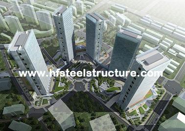 Immersion dure et durable, chaude galvanisée, bâtiment en acier à plusiers étages imperméable industriel