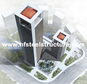 Bâtiment préfabriqué préfabriqué industriel de cadre en acier, bâtiment en acier à plusiers étages