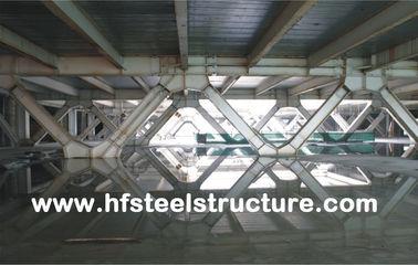 Bâtiment en acier à plusiers étages de système de encadrement et de bureau préfabriqué pour le mail, hôtel