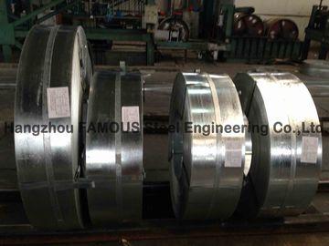 Bobine en acier galvanisée par bande en acier galvanisée plongée chaude laminée à froid largeur de 600mm - de 1500mm