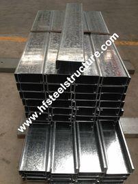 Purlines en acier galvanisés plongés chauds en galvanisant la bande en acier pour la Chambre préfabriquée