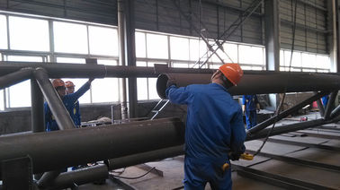 fabrications d'acier de construction de composants de Pré-ingénierie pour le bâtiment en acier industriel