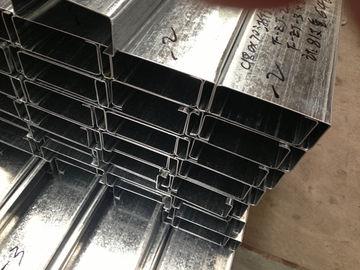 Q235 Q345 a galvanisé C et Purlins en acier de Z avec l'épaisseur de zingage 275g/m2