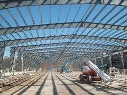 L'écurie en acier Pré-a machiné le bâtiment pour de grands centres commerciaux