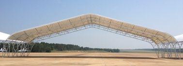 Bâtiments sifflants en acier préfabriqués de hangar d'avions de botte avec la grande envergure
