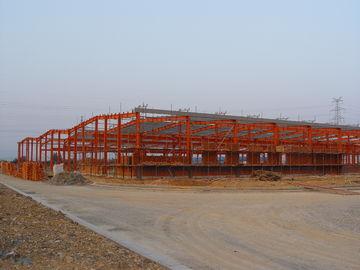Partie métallique structurelle industrielle se contractant, systèmes de encadrement d'acier préfabriqué