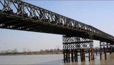 Immersion chaude galvanisée et soudante, freinant, roulant, pont de Bailey structurel de cisaillement