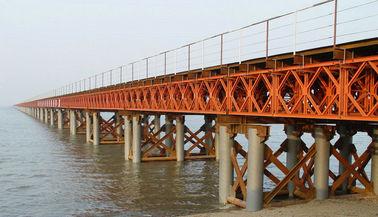 L'OEM/le pont en acier modulaire/contrat soudure faite sur commande ont préfabriqué le pont de Bailey