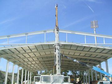 Construction en acier préfabriquée galvanisée de bâtiments de hangar d'avions rapidement